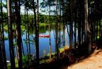 Canoe on the Ste-Anne river.