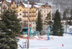 View of Condo from ski slope.